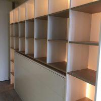 maatwerk garderobe meubel met verlichting