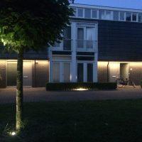 buitenverlichting lichtplan hofje 4 led www.anai.nl