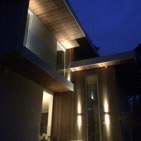 Lichtontwerp exterieur Bos Uyterlinde